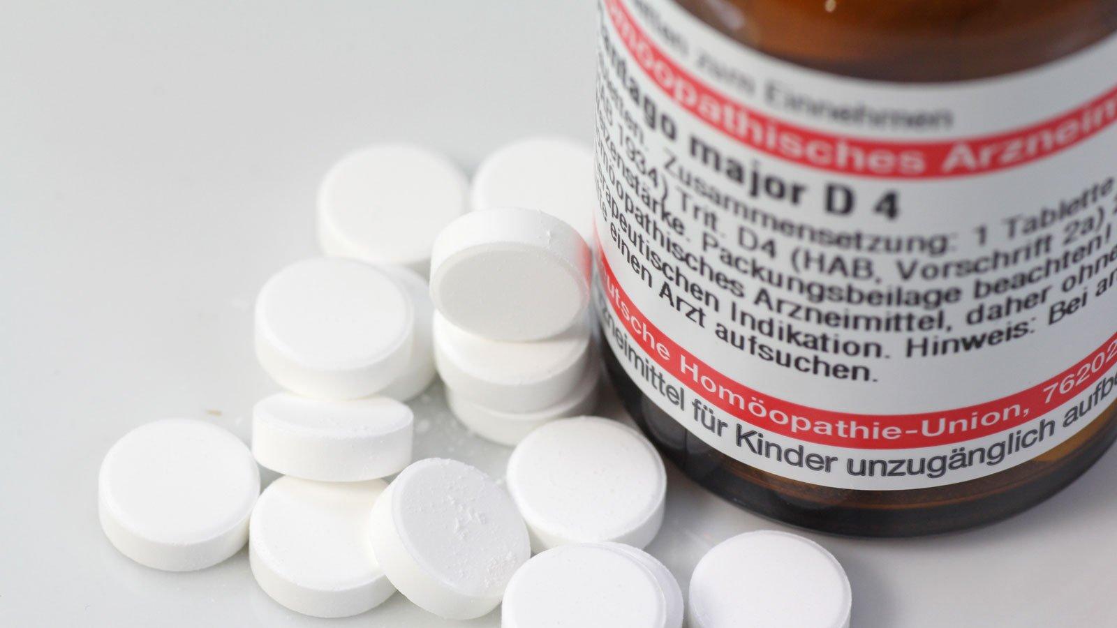 Plantago major Tabletten